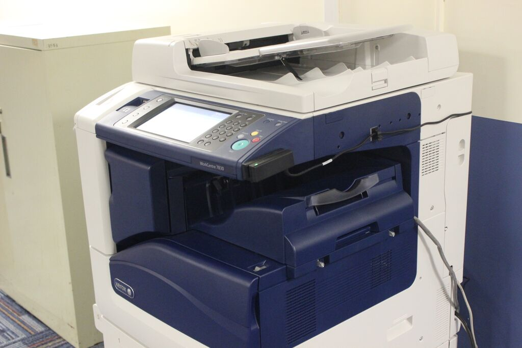 Some of the old printers have remained on campus. Was your favorite one upgraded?