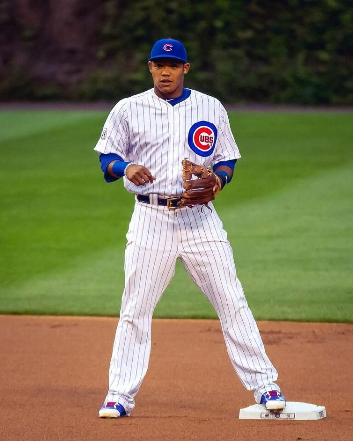 Although ruled out for the NLCS, rookie Addison Russell has been key in the Cubs' success this season.