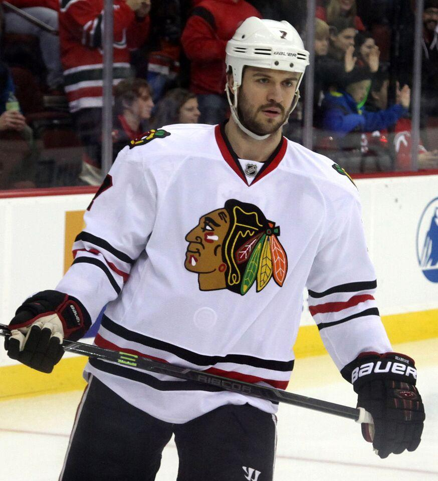 The Blackhawks agreed to an eight-year extension with the Canadian defenseman, Brent Seabrook