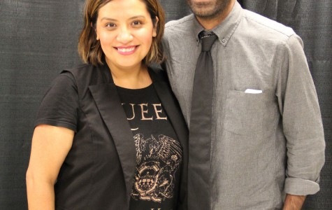 Christela Alonzo and Paul Verghese/Photo by Mary Kroeck