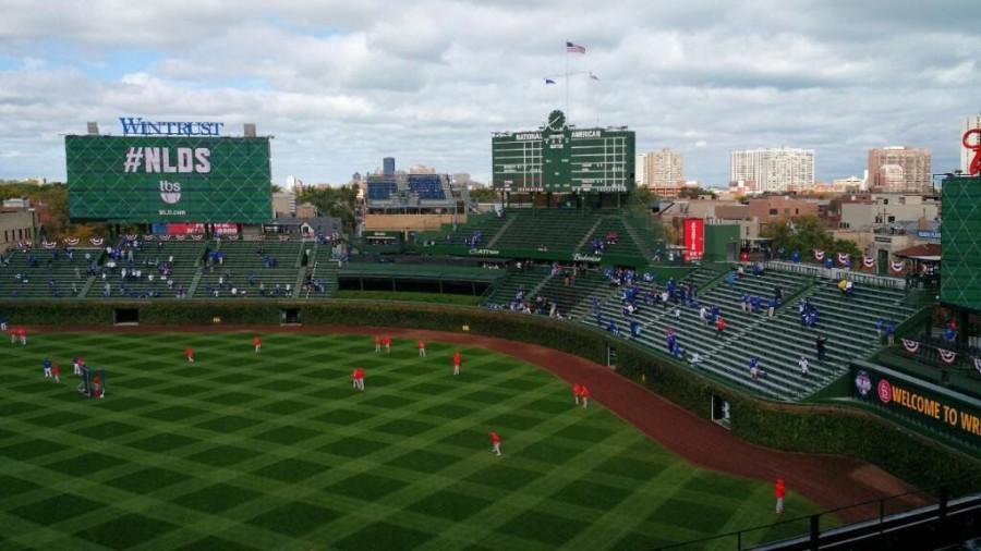 Oct.+13+was+the+first+time+the+Cubs+won+a+playoff+series+in+Wrigley+Field+history.
