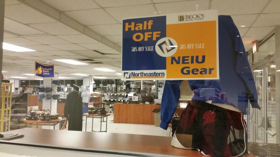 Recent sales on NEIU merchandise have caused speculation on the future of NEIU's relationship with Beck's Bookstore.
