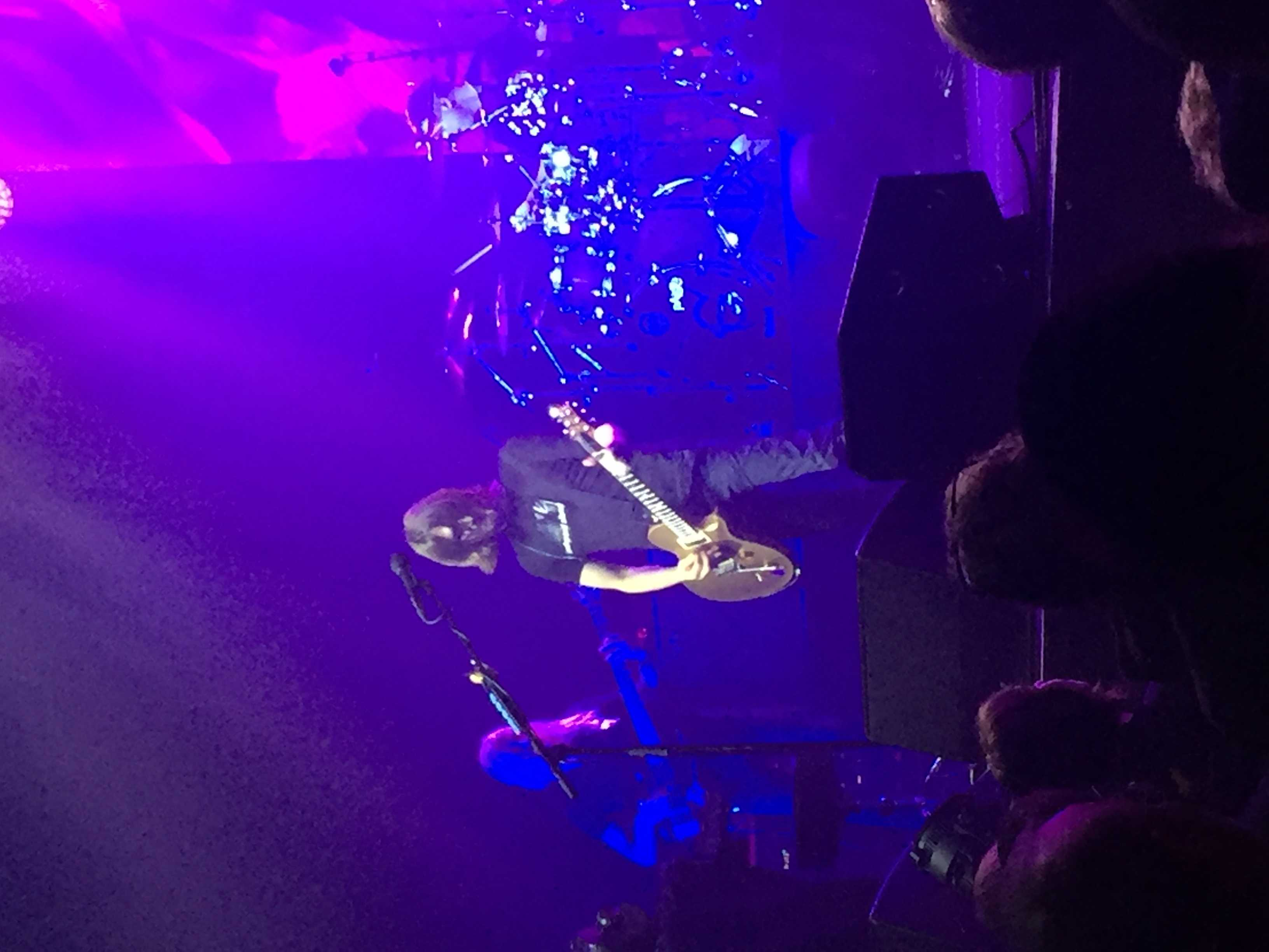 Steven Wilson performing at the Vic Theater.