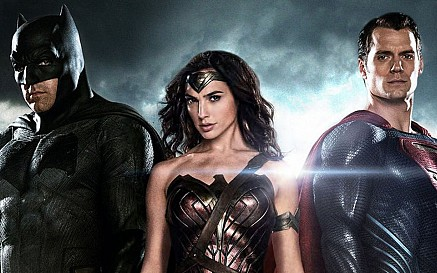 The DC Trinity comes to screen for the first time.