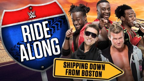 Fans get to Ride Along in new WWE Network series