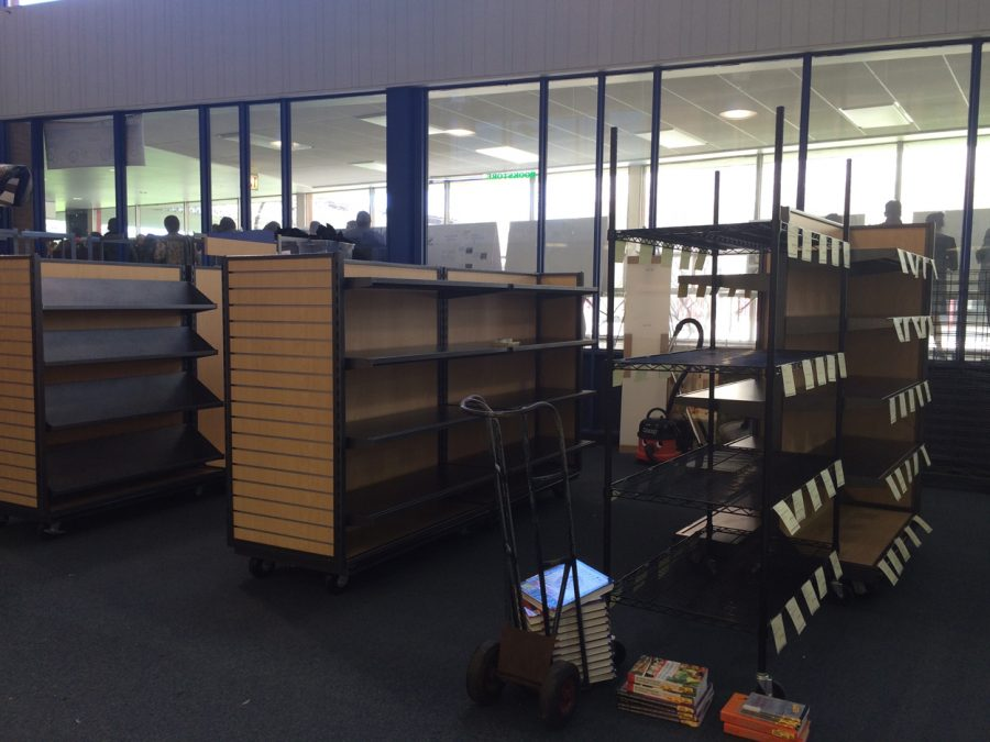 Follet is stocking up for the upcoming summer semester.