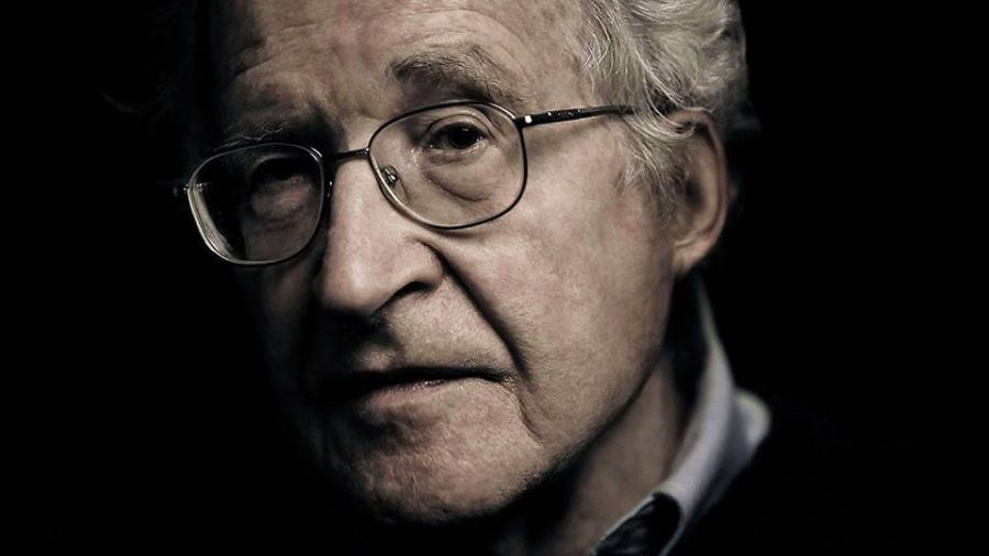 Chomsky addresses the state of humanity