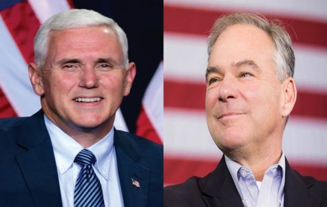 Vice-presidential candidates Mike Pence (left) and Time Kaine (right) debated on Oct. 4 ahead of the November general elections.