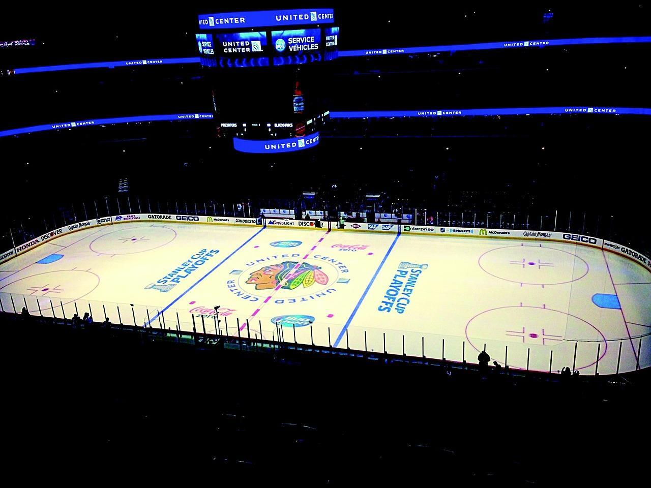 The United Center.