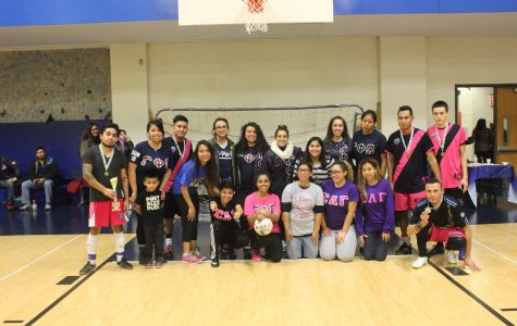 Numerous NEIU organizations came together to to rally support for the American Diabetes Association.