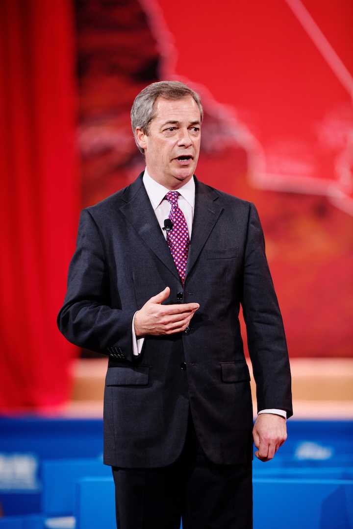 Farage, the leader of the U.K. Independence Party, has been Trump's counterpart in U.K. by marginalizing minorities to gain political momentum.