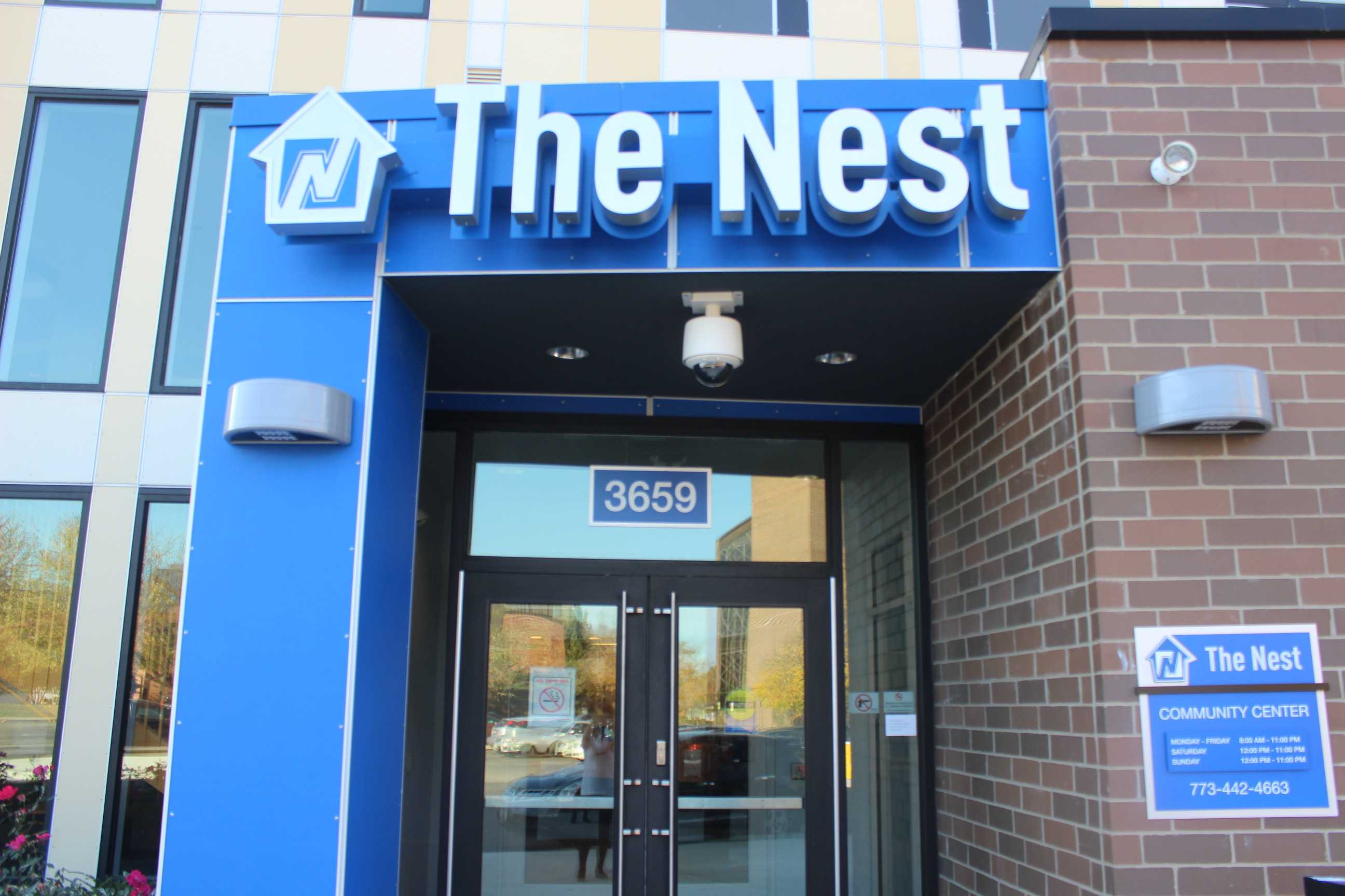 The incidents occurred inside The Nest, NEIU's new student housing.