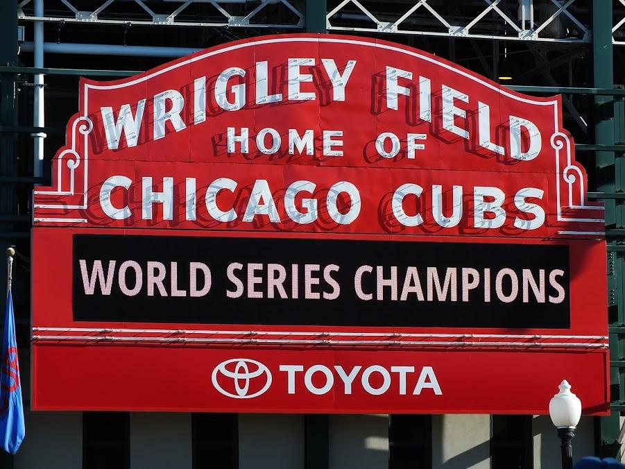 The Chicago Cubs are the 2016 baseball champions of the world.