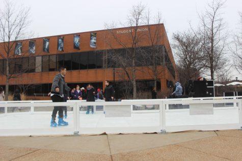 Grad student, SLD brings iceless skating to NEIU