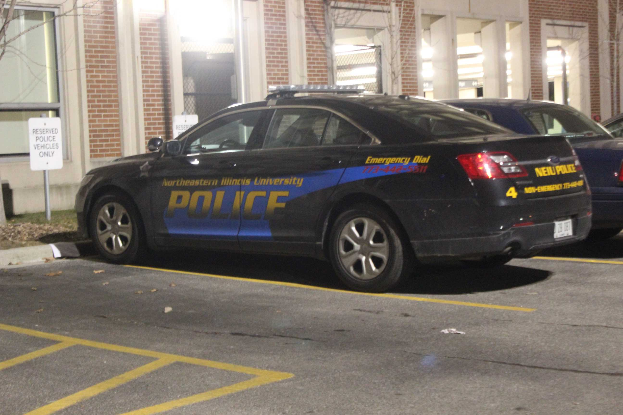 Students can request a police escort to their vehicle when leaving campus late at night.