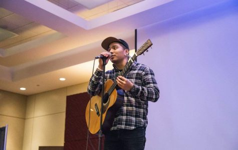 Steven Cristi also played in events at UIC and around NEIU. He uploads music videos of his orig- inal songs on youtube and Facebook under the name of Steven Cristi.