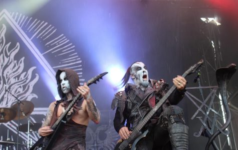 The band Behemoth played at Chicago Open Air