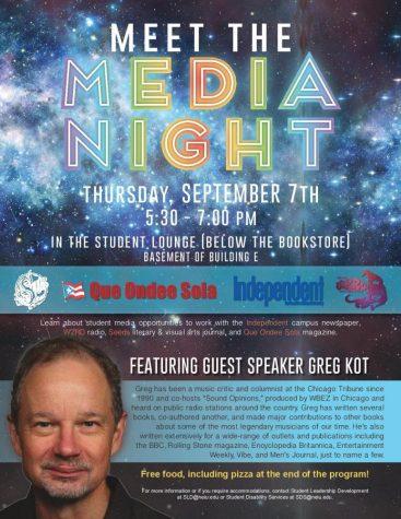 Meet the media night