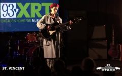 St. Vincent visits WXRT studios