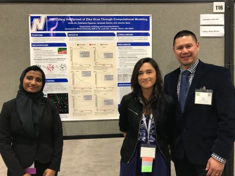 Zika virus, students win research award