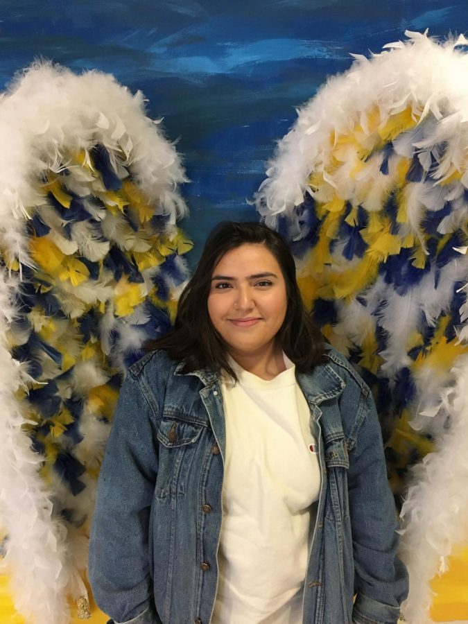 """""""My family and I wake up early to go to church. We dress head-to-toe in brand new outfits, mostly pastel colors. Afterward, we go home and cook Mexican dishes.""""-Melissa Montes De Oca - Junior"""