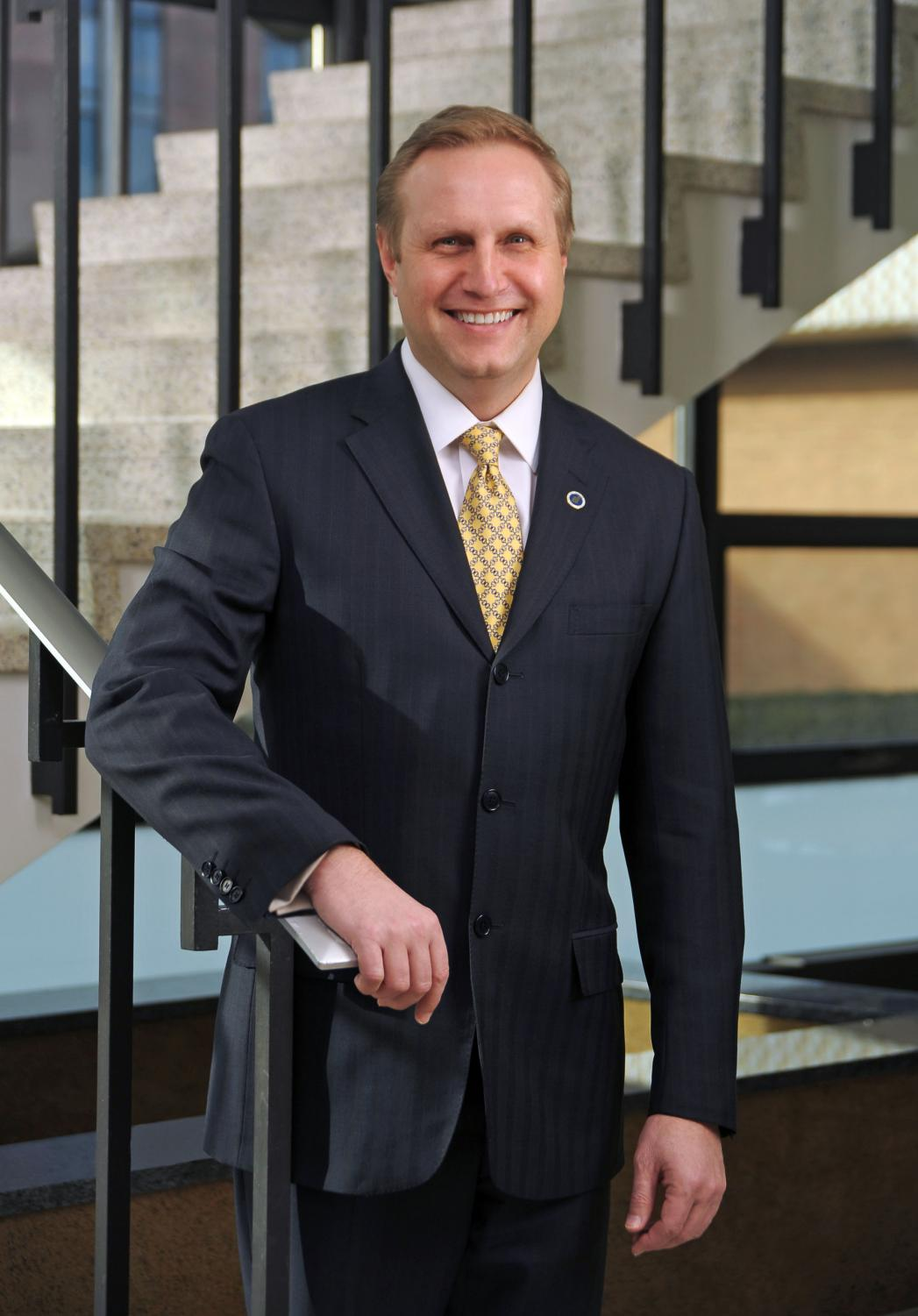"[The picture of Helldobler smiling] ""It has been an honor to serve both as Provost and Interim President during my tenure here at Northeastern Illinois University,"" Helldobler said in a letter to the University community. ""Together we should be proud of our many accomplishments."""