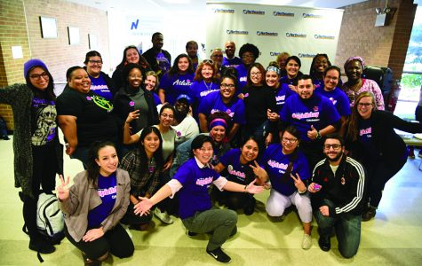 NEIU community poses for