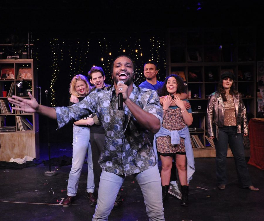 "Ahmad Simmons in ""High Fidelity."" NEIU students get one free ticket with student I.D."