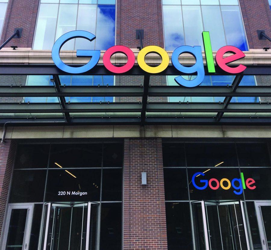 Google headquarters on 320 N. Morgan.