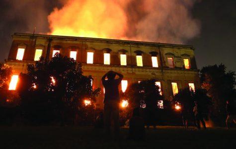 National Museum in Rio De Janeiro burned down on September 2, 2018.