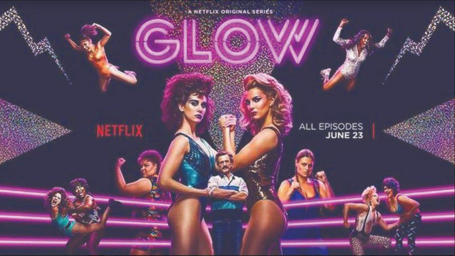 GLOW season 3 promotional poster