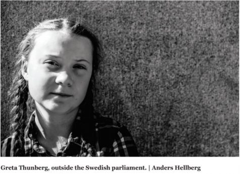 Greta Thunberg is the coolest girl in the world