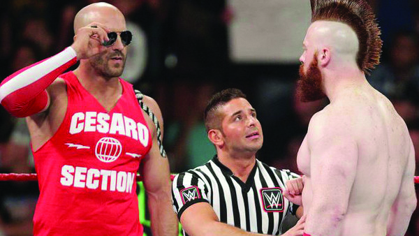 Cesaro and Sheamus fought seven times. It ended their single's run| Photo by: WhatCulture