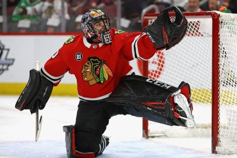 Robin Lehner has solved the Hawks' Crawford question