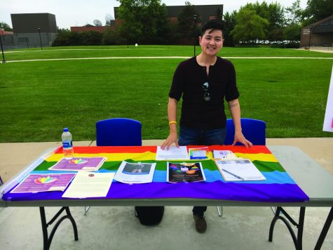 NEIU hosts resource fair for Domestic Violence Awareness Month and Coming Out Day