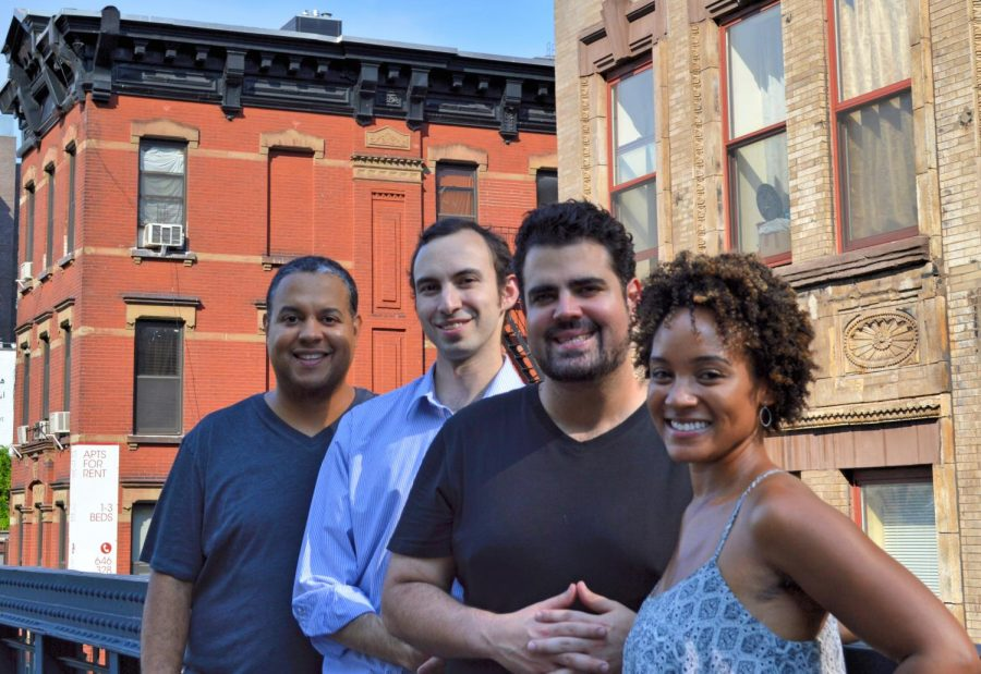 The Harlem Quartet, based from New York City. | Photo by: Amy Schroeder