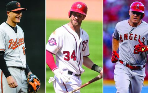 Harper, Machado and Trout all failed to reach the playoffs | Photo by: Getty Images