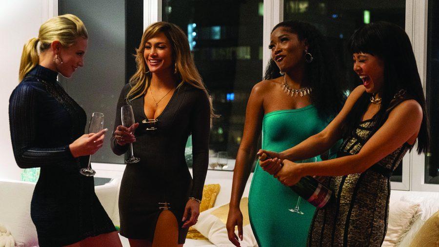 Lili Reinhart, Jennifer Lopez, Keke Palmer, and Constance Wu star in HUSTLERS