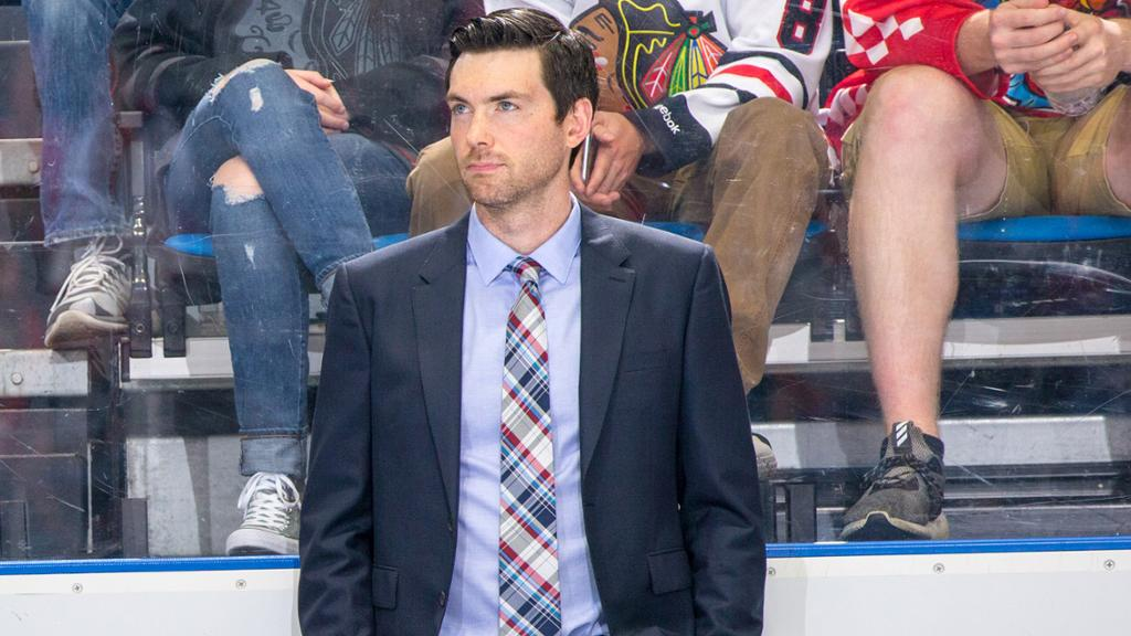 At 34 years old, Jeremy Colliton is the youngest head coach in the NHL | Photo by: Sportsillustrated.com