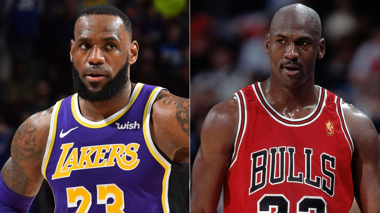 The debate between Jordan and LeBron rages on | Photo by: NBA.com