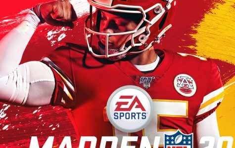 This image provided by EA Sports shows the cover of the Madden 20 video game, featuring Kansas City Chiefs quarterback Patrick Mahomes, which will be released in August | (Photo courtesy of EA Sports via AP) ORG XMIT: NY161