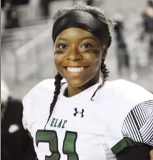 """Trailblazing"" Toni Harris: the first woman to receive a four-year football scholarship"