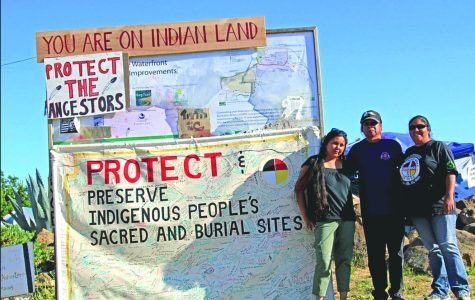 Protesters at Sogorea Te in Vallejo, California where Natives gained jurisdiction of sacred sites and ancestral lands. | Photo by Wikiwand