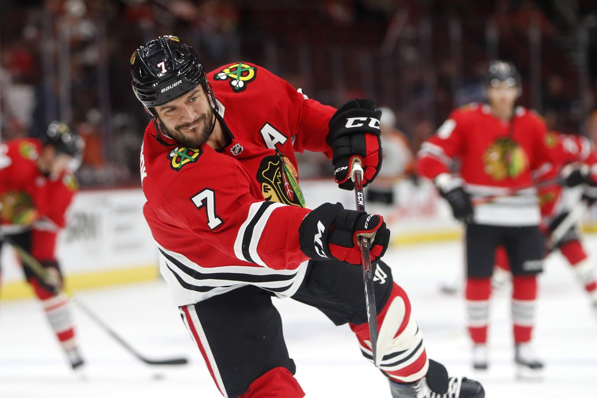 Has Seabrook's time with the Hawks come to an end? | Photo by: Chicago Sun-Times