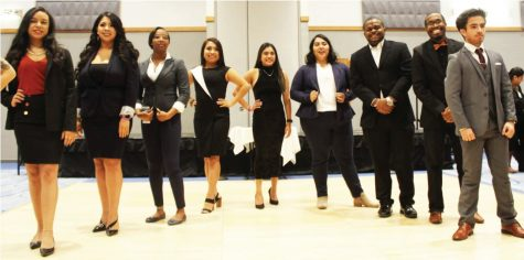 Evening of etiquette dinner and fashion show