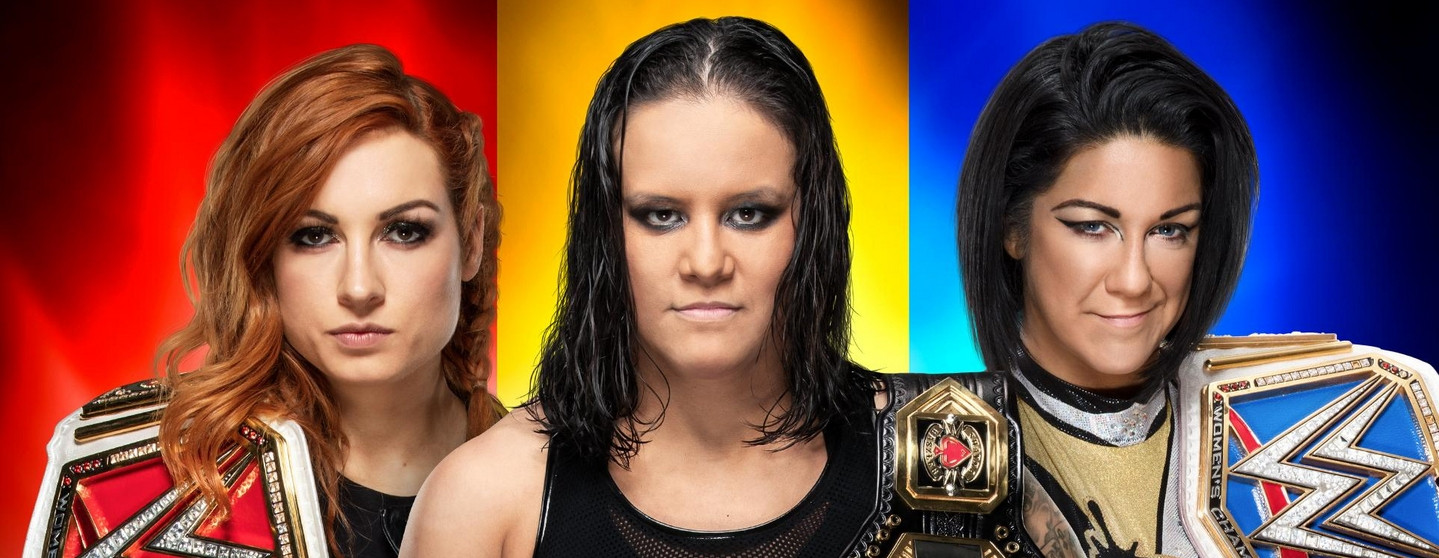Shayna Baszler, Becky Lynch and Bayley underwhelm in the main event. | Photo by: Uproxx