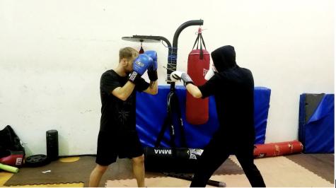 NEIU's boxing club packs a punch