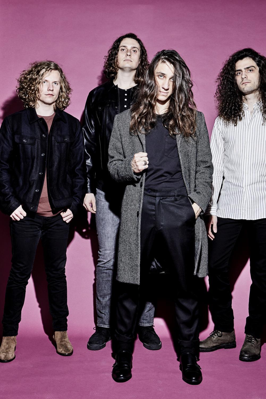 From left to right: Guitarist Blake Allard, bassist Greg Bracchio, vocalist Nick Reese and drummer Robert Sodaro