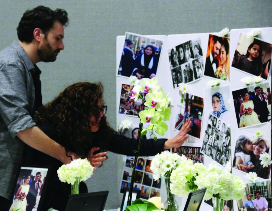 The vigil was the only one in the state and was hosted by NEIU's Mossadegh Initiative