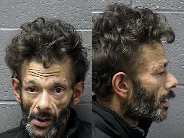 Shaun Weiss' mugshot, posted to the Marysville Police Department's Facebook page.